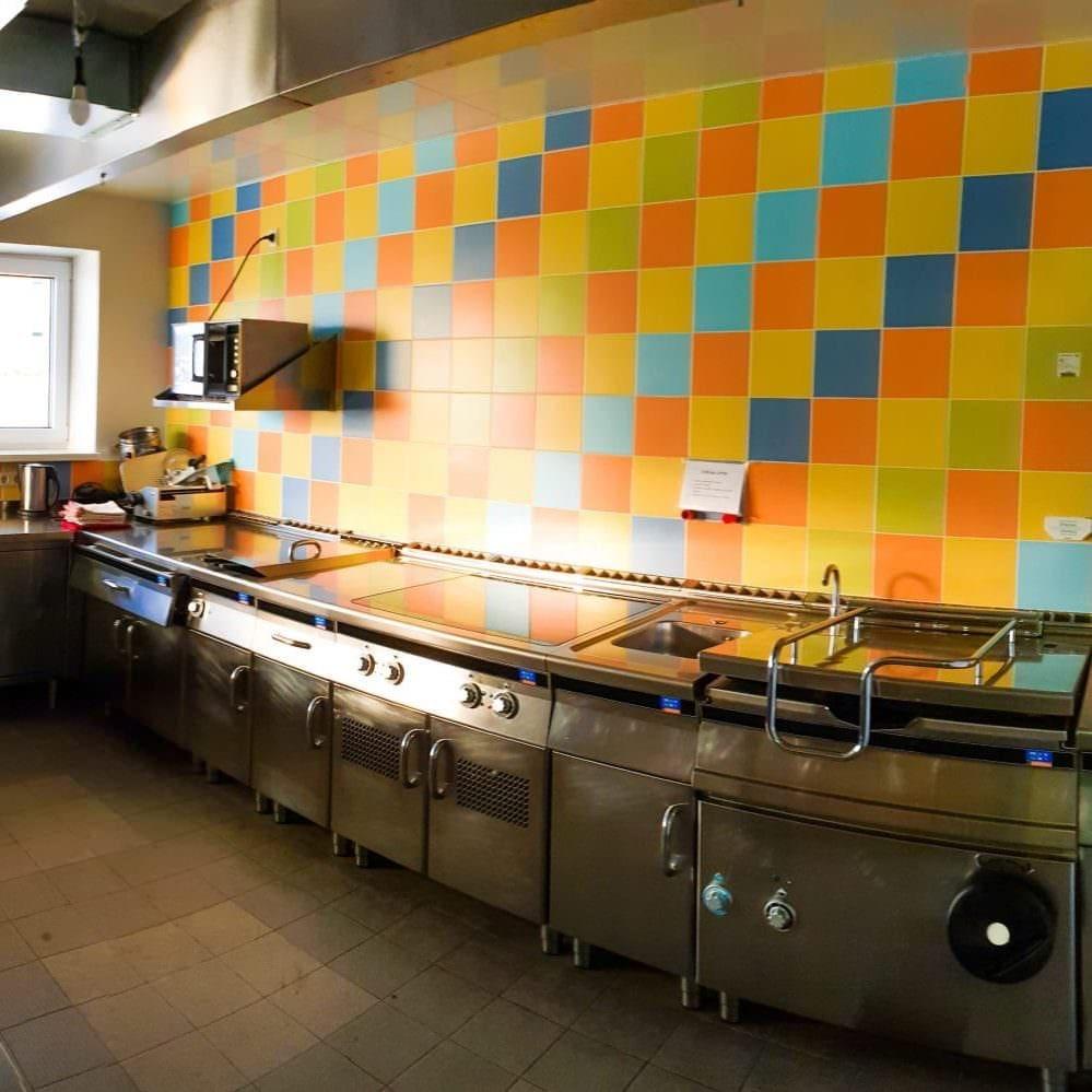 Jugendhotel Edelweiss Jugendherberge Selbstversorgerhaus Küche