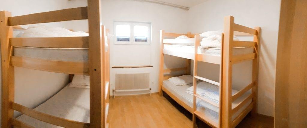 Jugendhotel Edelweiss Jugendherberge 4 Bett Zimmer